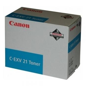 Cartus Toner Canon C-EXV21C Cyan 14000 Pagini for IR C2380I, IR C2880, IR C2880I, IR C3080, IR C3080I, IR C3380, IR C3380I, IR C3580, IR C3580I CF0453B002AA