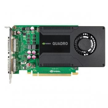 Placa Video PNY nVidia Quadro K2000D 2GB GDDR5 128bit PCI-E x16 2.0 2xDVI miniDisplayPort VCQK2000DVI-PB