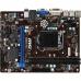 Placa de baza MSI B85M-P33 Socket 1150 Chipset Intel B85 2x DIMM DDR3 1x PCI-E x16 3.0 1x PCI-E x1 DVI VGA 2x USB 3.0 MicroATX