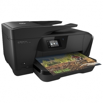 Officejet 7510 Wide Format e-All-in-One Printer; Printer, Fax, Scanner, Copier, A3+, print (A4, ISO): max 15ppm mono, 8ppm color, max 4800x1200dpi, HP PCL 3 GUI, HP PCL3 Enhanced, 256MB, LCD 6.73cm color, TouchSmart, tava 250 coli, ; scanner: flatbed, ADF