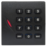Cititor de proximitate RFID KR102E (125KHz) cu tastatura, pentru centrale de control acces,Conectivitate Wiegand 26, Distanta de citire 10 cm, rezistent la apa, protectie la inversare de polaritate