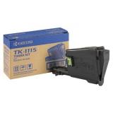 Cartus Toner Kyocera Mita TK-1115 Black 1600 Pagini for Kyocera FS-1041, FS-1220MFP, FS-1320MFP