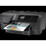 "Officejet Pro 8210 Printer; A4, max 22ppm black, 18ppm color (ISO) (12/10ppm duplex), max 2400x1200dpi color, memorie 256MB, HP PCLXL (PCL6), native PDF, HP Postscript Level 3 emulation, tava 250 coli, duplex, display mono 2""; USB, USB front, Etherne"