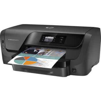 "Officejet Pro 8210 Printer; A4, max 22ppm black, 18ppm color (ISO) (12/10ppm duplex), max 2400x1200dpi color, memorie 256MB, HP PCLXL (PCL6), native PDF, HP Postscript Level 3 emulation, tava 250 coli, duplex, display mono 2""; USB, USB front, Etherne"