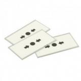 Capac protectie plastic, transparent, pentru butoanele din seria FC400