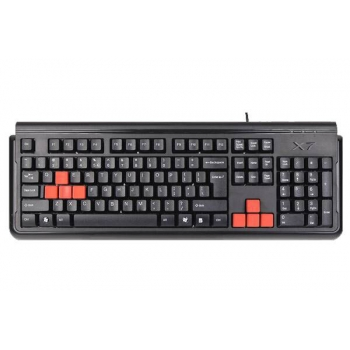 Tastatura A4Tech G300 Gaming PS/2 Black