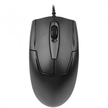 Mouse A4tech OP-550NU V-Track 3 butoane USB Metal feet Black