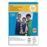 Hartie Foto HP Q8692A Advanced Glossy Dimensiune:4x6 inch, 10x15 cm Numar coli: 100
