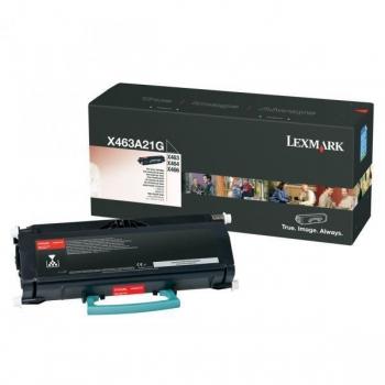 Cartus Toner Lexmark X463A21G Black 3500 pagini for X463DE, X464DE, X466DE, X466DTE, X466DWE