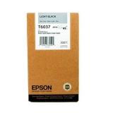 Cartus Cerneala Epson T6037 Light Black 220ml for Stylus Pro 7800, Stylus Pro 7880, Stylus Pro 9800, Stylus Pro 9880 C13T603700