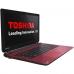 "Laptop Toshiba Satellite L50-B-1FM Intel Celeron Dual Core N2830 up to 2.41GHz 4GB DDR3L HDD 750GB Intel HD Graphics Gen7 15.6"" HD Red PSKTWE-00U00DG6"