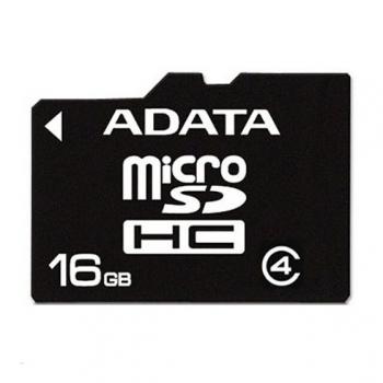 Card Memorie MicroSDHC ADATA 16GB Clasa 4 AUSDH16GCL4-R