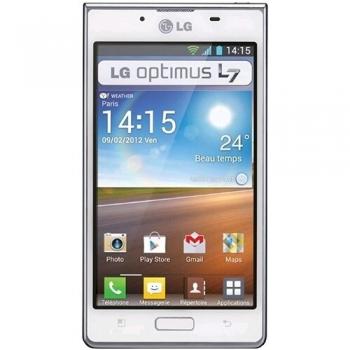 """Telefon Mobil LG P700 Optimus L7 3G White 4.3"""" 480 x 800 Gorilla Glass Cortex A5 1GHz memorie interna 4GB Android v4.0 LGP700WHT"""