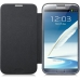 Husa Samsung Flip Cover pentru N7100 Galaxy Note II Silver EFC-1J9FSEGSTD