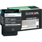 Cartus Toner Lexmark C544X1KG Black Extra High Yield Return Program 6000 pagini for C544, X544, C546, X546