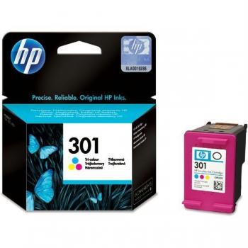 Cartus Cerneala HP Nr. 301 Color Vivera Inks 165 Pagini for Deskjet 1000, 2000, 2050, 3000, 3050 CH562EE