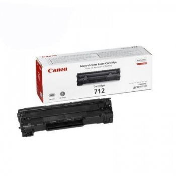 Cartus Toner Canon CRG-712 Black 1500 Pagini for LBP 3010, LBP 3100 CR1870B002AA