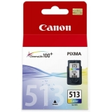 Cartus Cerneala Canon CL-513 Color 350 Pagini for Canon Pixma IP2700, MP240, MP250, MP260, MP270, MP280, MP480, MP490, MP495, MX320, MX330, MX340, MX350, MX410, MX420 BS2971B001AA