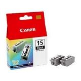 Cartus Cerneala Canon BCI-15BK Black 2 Bucati for I70, Pixus 50I BS8190A002AA