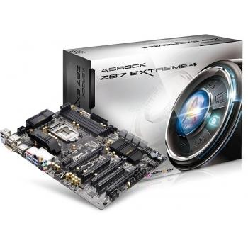Placa de baza ASRock Z87 Extreme4 Socket 1150 Intel Z87 4x DDR3 HDMI DVI VGA DisplayPort ATX