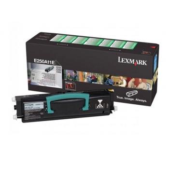 Cartus Toner Lexmark E250A11E Black Return Program 3500 pagini for E250D, E250DN, E350D, E352DN
