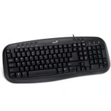 Tastatura Genius KB-M200 Multimedia USB Black 31310049102