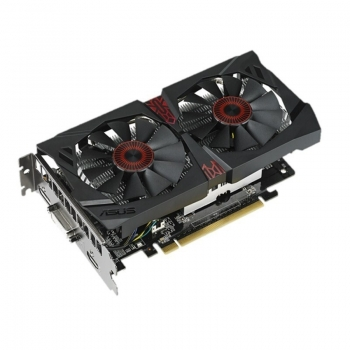 Placa Video Asus nVidia GeForce GTX 750Ti OC 4GB GDDR5 128bit PCI-E x16 3.0 HDMI,DVI,D-sub STGTX750TIDC2OC-4G