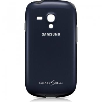 Husa Samsung EFC-1M7BBEGSTD pentru i8190 Galaxy S III Mini Blue