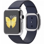 Ceas SmartWatch Apple Watch Modern 38mm Steel Blue M MJ342LL