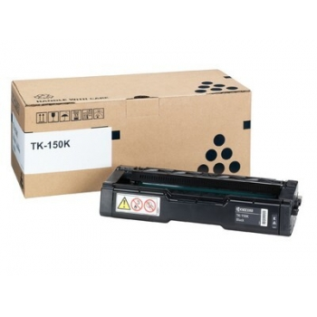 Cartus Toner Kyocera TK-150K Black 6500 Pagini for Kyocera Mita FS-C1020 MFP