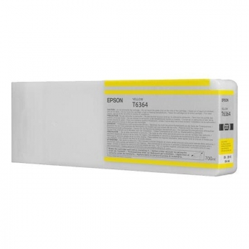 Cartus Cerneala Epson T6364 Yellow 700ml for Stylus Pro 7700, 7890, 7900, 9890, 9900, WT7900 C13T636400