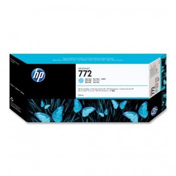Cartus Cerneala HP Nr. 772 Light Cyan 300 ml for HP Designjet Z5200 PostScript Printer CN632A