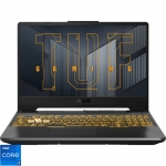 Laptop ASUS Gaming 15.6'' TUF F15 FX506HE, FHD 144Hz, Procesor Intel Core i7-11800H (24M Cache, up to 4.60 GHz), 8GB DDR4, 512GB SSD, GeForce RTX 3050 Ti 4GB, No OS, Eclipse Gray