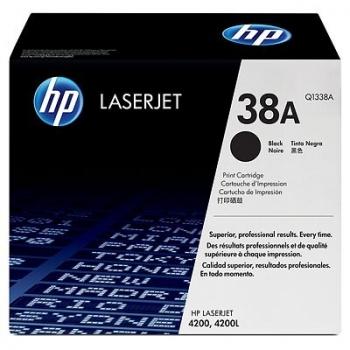 Cartus Toner HP Nr. 38A Black 12000 Pagini for LaserJet 4200 Q1338A