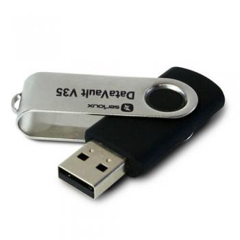 Memorie USB Serioux DataVault V35 8GB USB 2.0 negru SFUD08V35