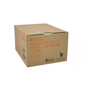 Cartus Toner Ricoh Type 260 Yellow 10000 pagini for Aficio CL 7200, Aficio CL 7300D 888447