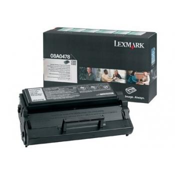 Cartus Toner Lexmark 08A0478 Black 6000 pagini for E320, E322, E322N