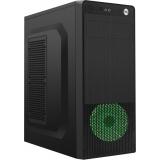 Carcasa Gembird Gembird ATX case Fornax 150G USB 3.0 green fan