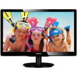 "Monitor LED MVA Philips 19.5"" V-Line 200V4QSBR Full HD 1920x1080 VGA DVI 200V4QSBR/00"