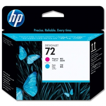 Cap Printare HP Nr. 72 Magenta & Cyan for DesignJet T1100, HP DesignJet T610 C9383A