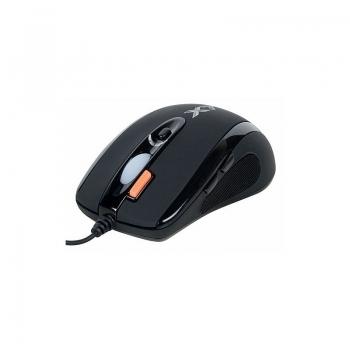 Mouse A4Tech X-710 Optic 6 Butoane 2000dpi USB Black X-710BK