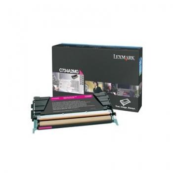 Cartus Toner Lexmark C734A2MG Magenta 6000 pagini for C734DN, C734DTN, C734DW, C734N, X734DE, C736DN, C736DTN, C736N, X736DE, X738DE, X738DTE