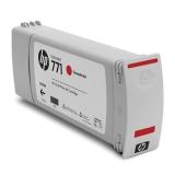 Pachet Cartus Cerneala HP Nr. 771 Chromatic Red 3 Bucati 775 ml for Designjet Z6200 42', Designjet Z6200 60' CR251A