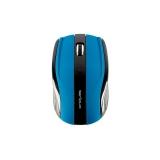 Mouse Serioux, RAINBOW400, fara fir, USB, senzor optic, distanta deoperare; 10m, precizie: 1000/1600DPI ajustabila, 6 butoane, 2x ba terieAAA, sisteme de operare: Windows / Mac OS / Linux, albastru