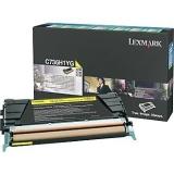 Cartus Toner Lexmark C736H1YG Yellow Return Program 10000 pagini for C736DN, C736DTN, C736N, X736DE, X738DE, X738DTE