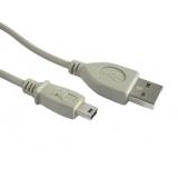 Cablu mini USB 0.9m Gembird CC-USB2-AM5P-3