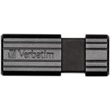 Memorie USB Verbatim Store n Go PinStripe 64GB USB 2.0 Black 49065