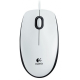 Mouse Logitech B100 Optic 3 butoane 800dpi USB white 910-003360