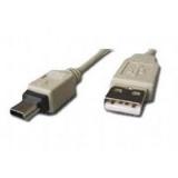 Cablu Gembird CC-USB2-AM5P-6 USB 2.0 A - mini 5PM bulk 1.8 m