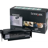 Cartus Toner Lexmark 12A8420 Black Return Program 6000 pagini for Optra T430